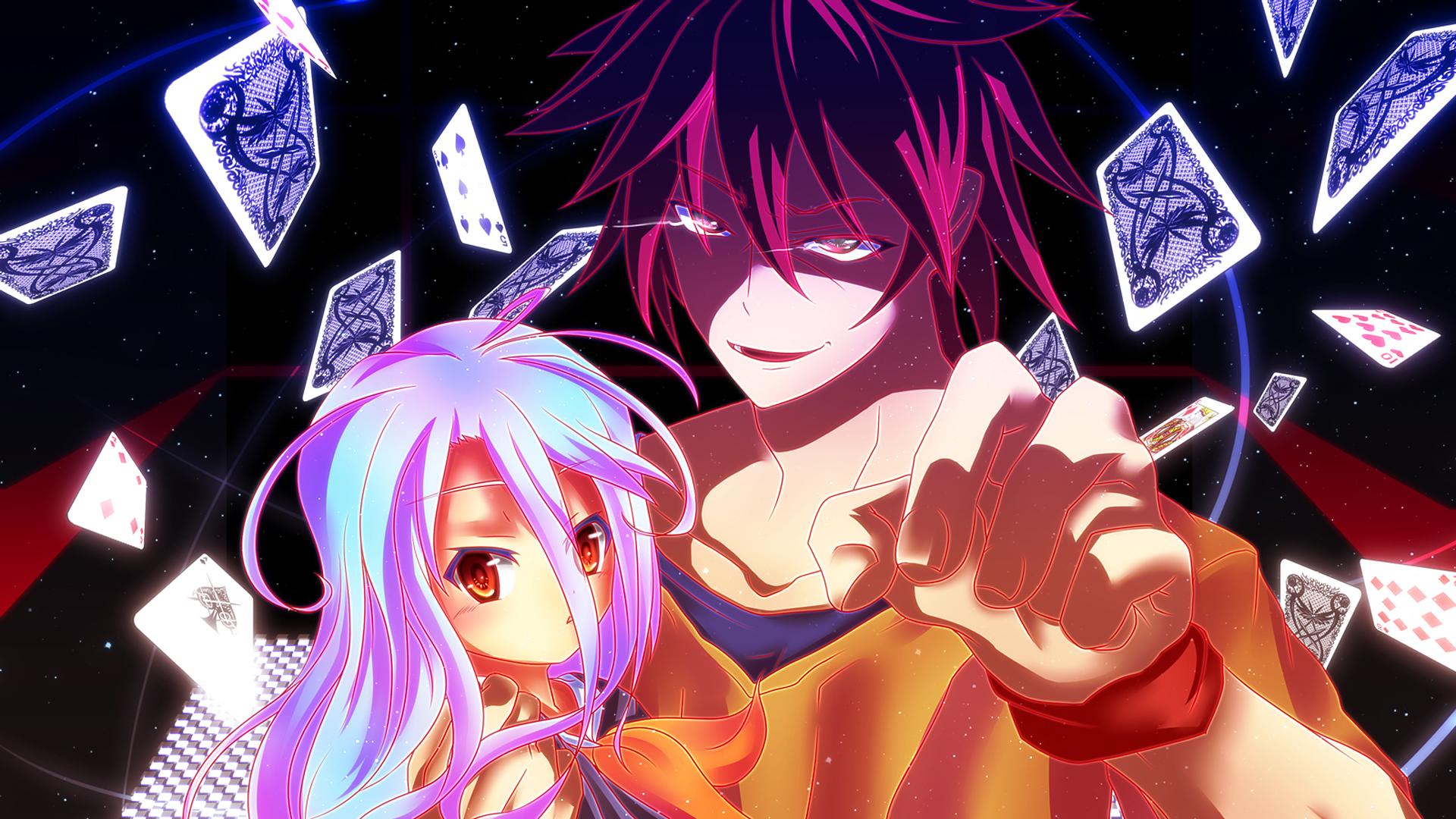 shiro and sora no game no life anime hd 1920x1080 1080p wallpaper and 1920x1080