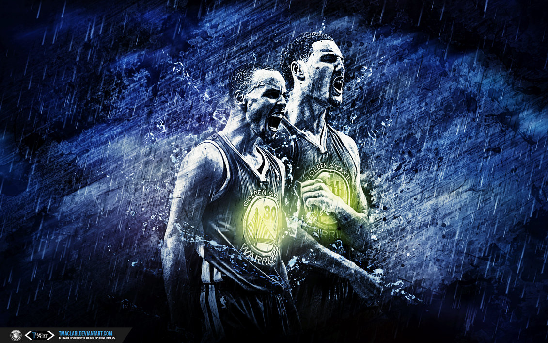 Golden State Warriors Splash Brothers Wallpaper by tmaclabi on 1131x707