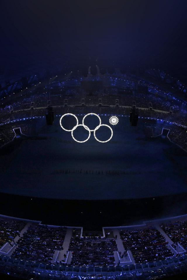 FREEIOS7 sochi olympics flag   parallax HD iPhone iPad wallpaper 640x960
