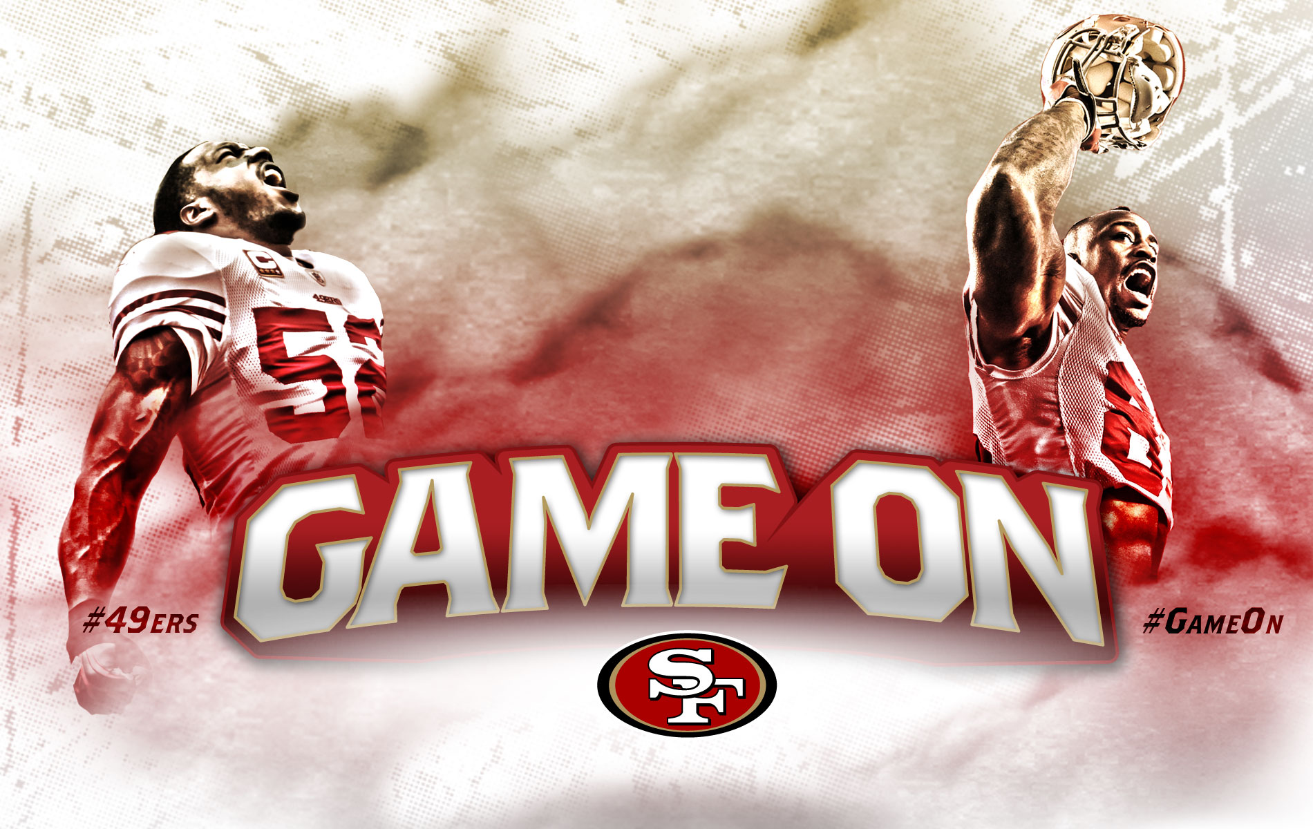 our new San Francisco 49ers wallpaper San Francisco 49ers wallpapers 1900x1200