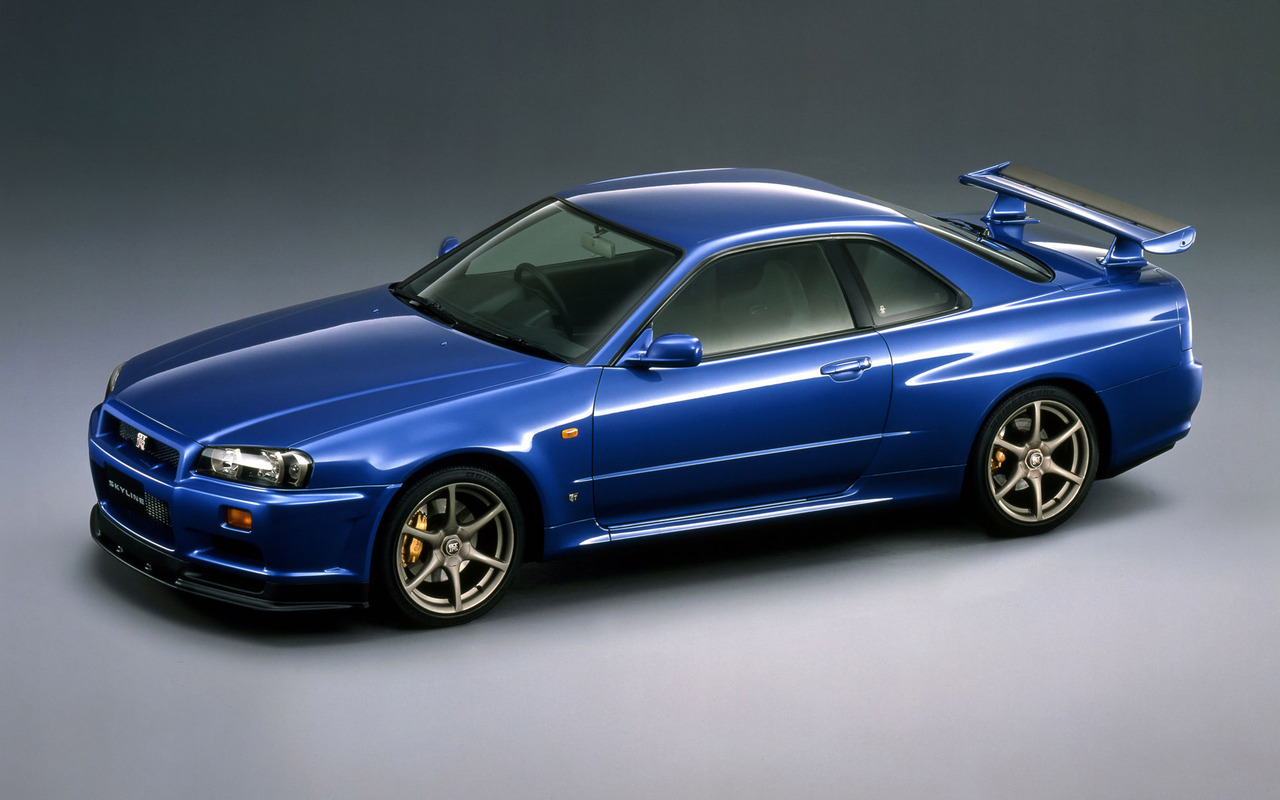 Nissan Skyline GT R wallpaper 1594 1280x800