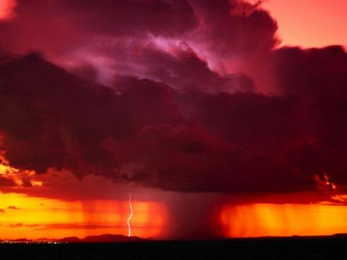Thunderstorm Wallpaper 500x375