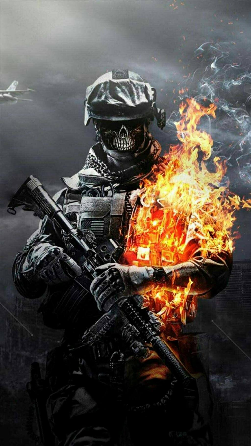 CALL OF DUTY wallpaper for mobile by LORD12DARK 1024x1821