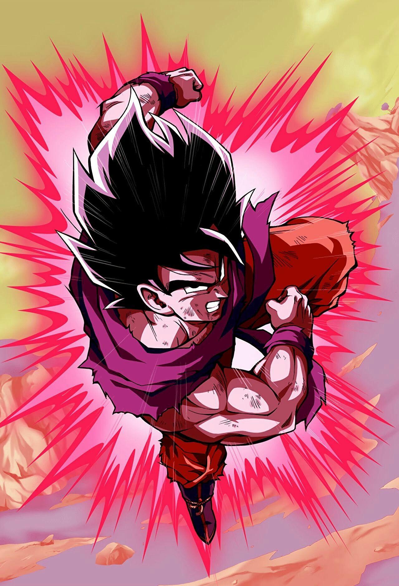 Goku Kaioken   1280x1880 Wallpaper   teahubio 1280x1880