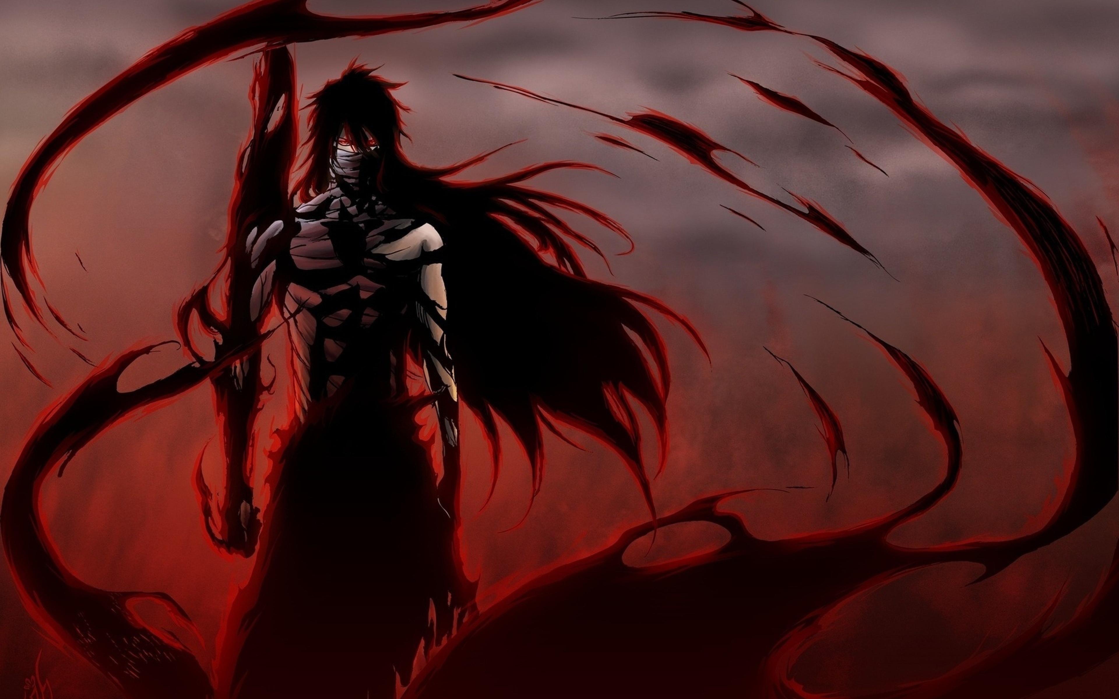 3840x2400 Anime Bleach Ichego Posture Wind Background Wallpaper 3840x2400