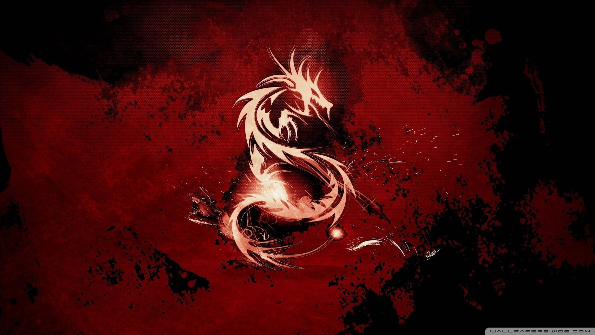 47 Red Dragon Gaming Wallpaper On Wallpapersafari