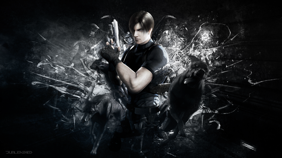 Free Download Resident Evil Wallpaper Leon S Kennedy By Junleashed