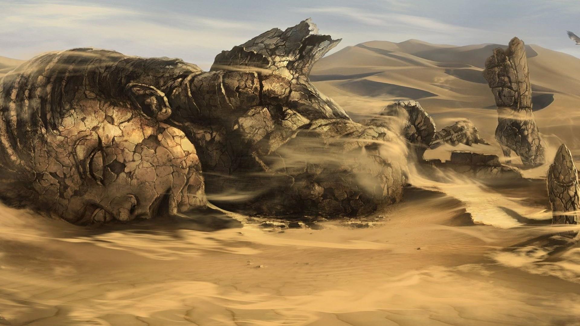Музыка в пустыне  № 3622223 бесплатно