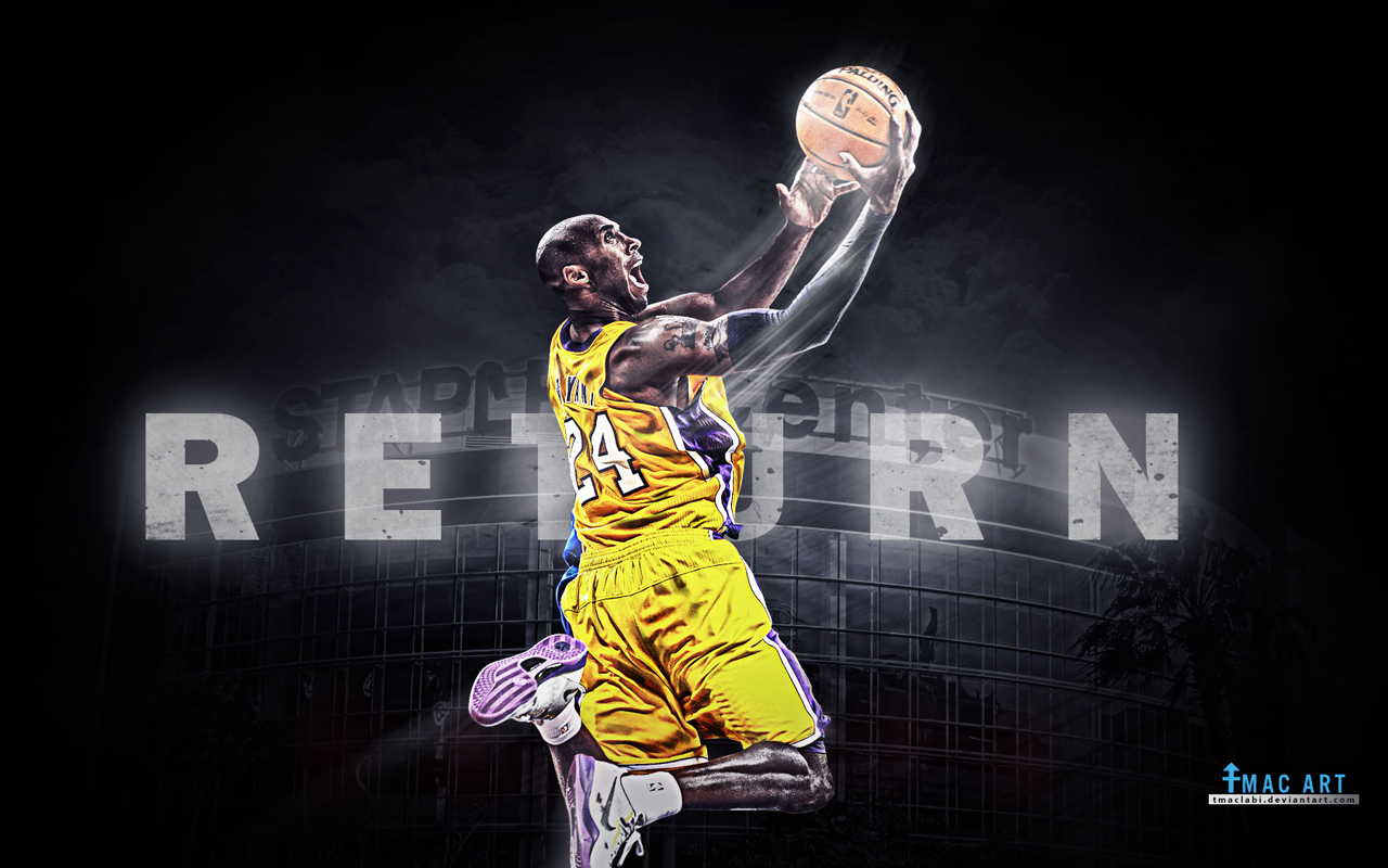Kobe Bryant Wallpaper The Art Mad Wallpapers 1280x800