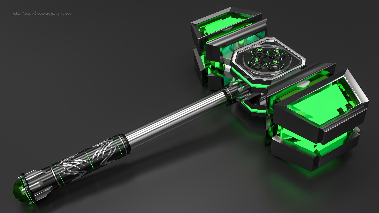 Sci-fi Hammer 5 by AH-Kai on DeviantArt
