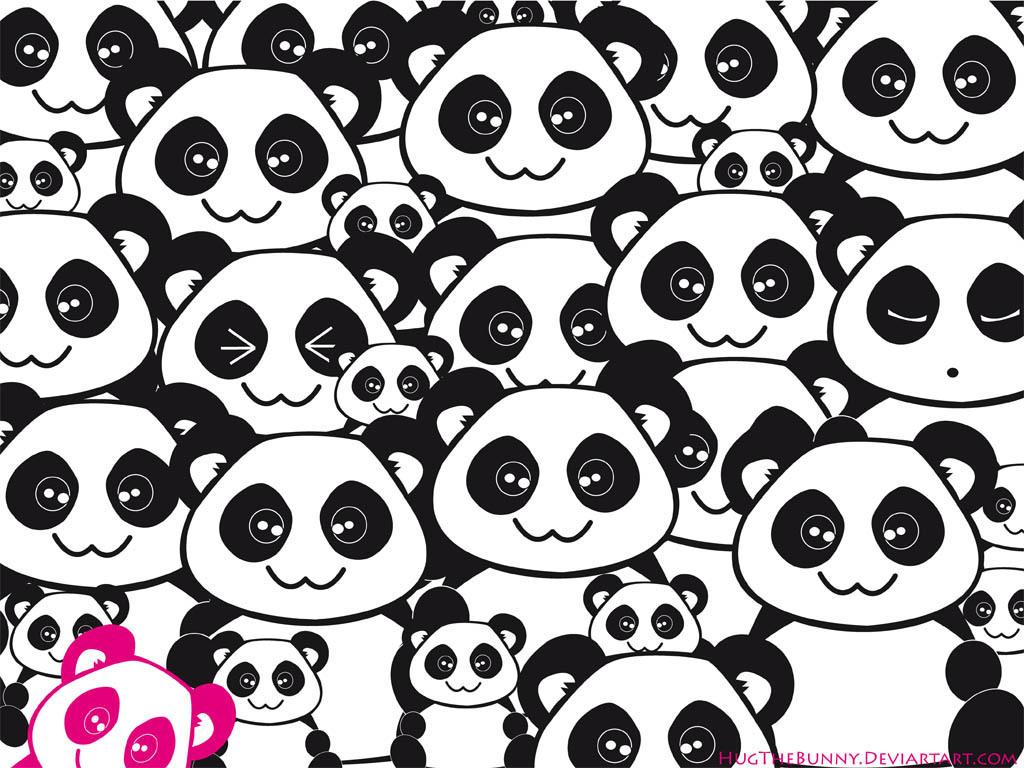 47 Cute Anime Panda Wallpaper On Wallpapersafari
