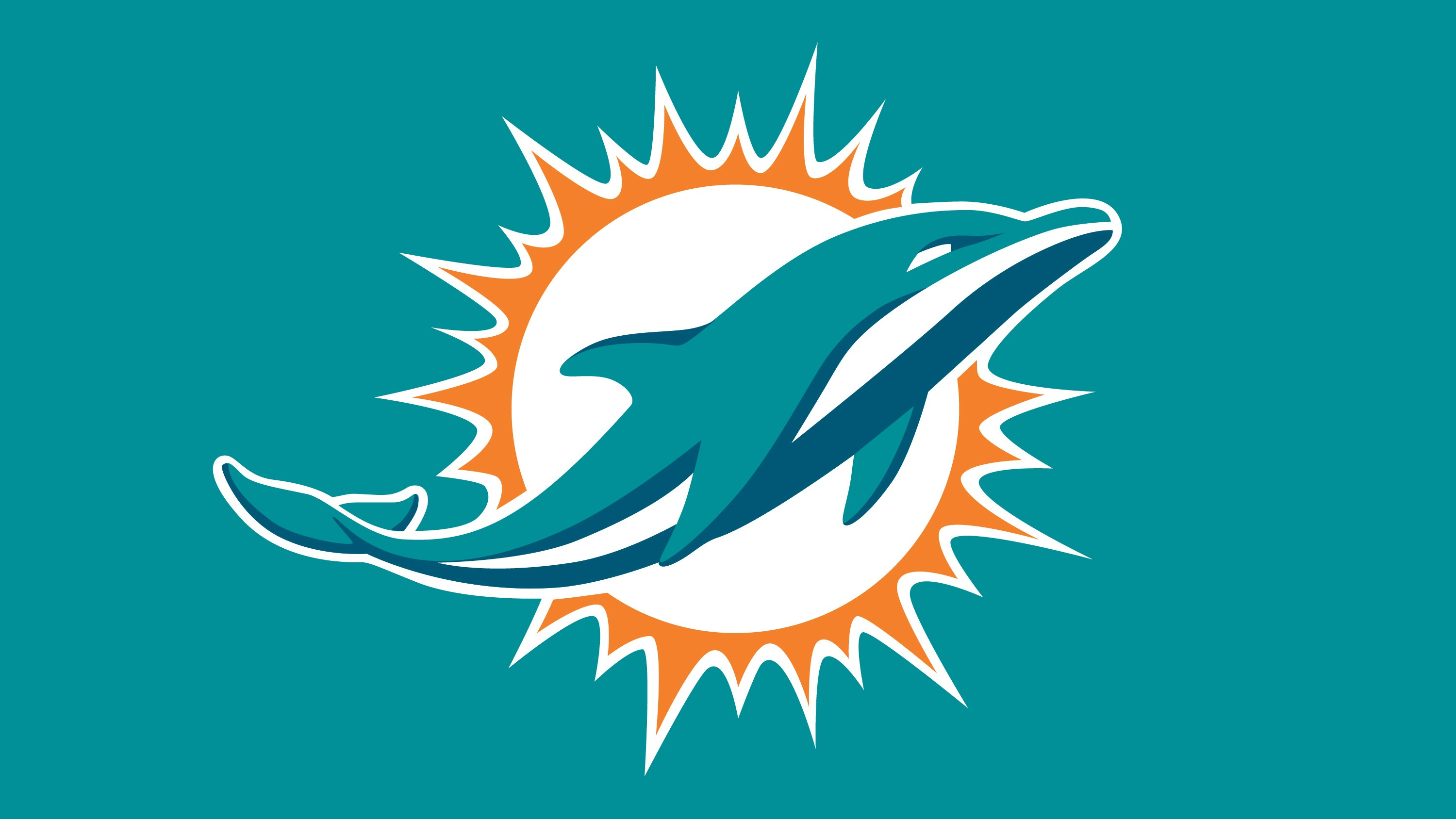 dolphins new logo   HD wallpapers   Dolphins new logo 3000x1688