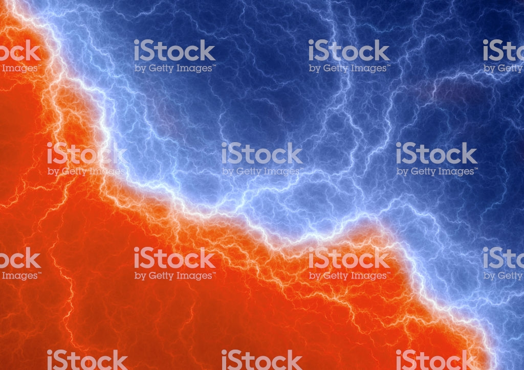 Fire And Ice Abstract Lightning Background Clash Of The Elements 1024x724