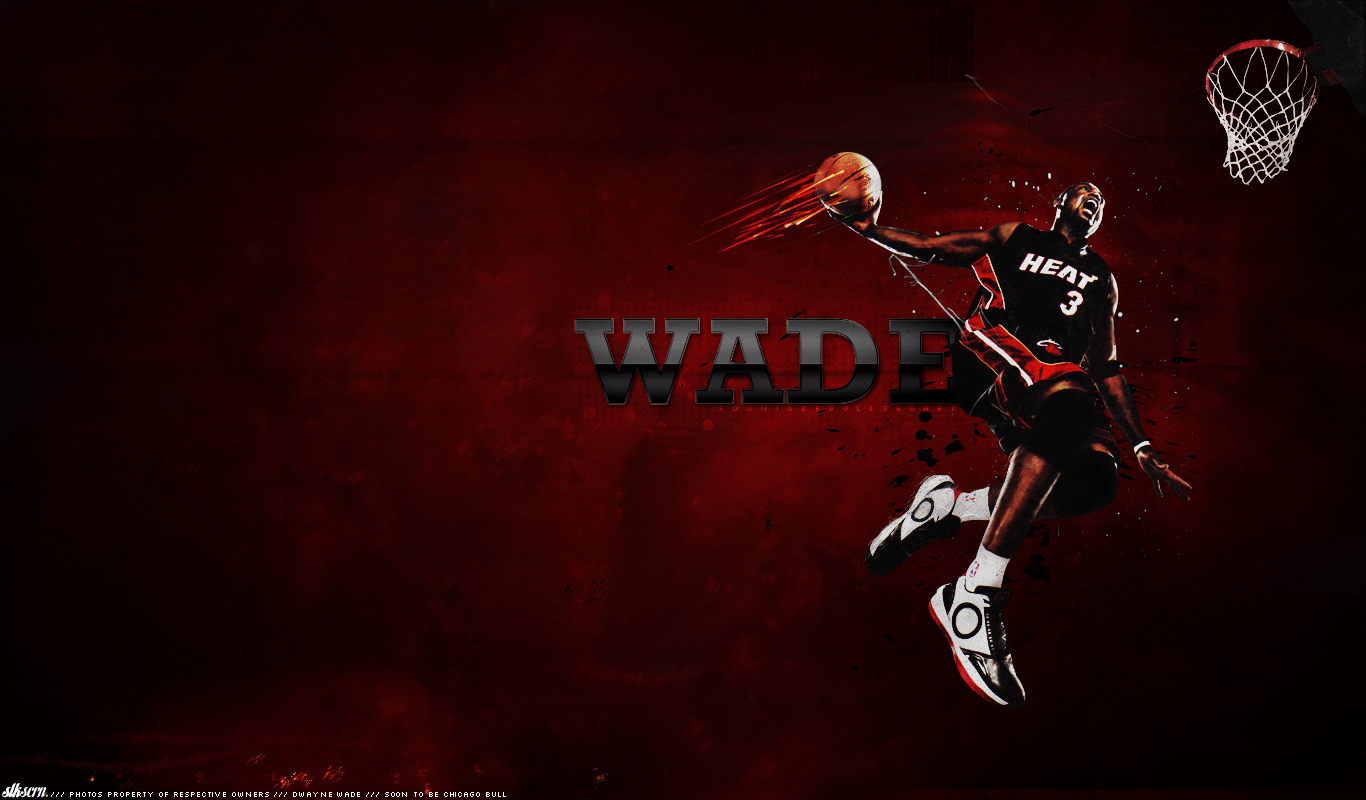 Dwyane Wade 2015 Wallpapers 1366x800