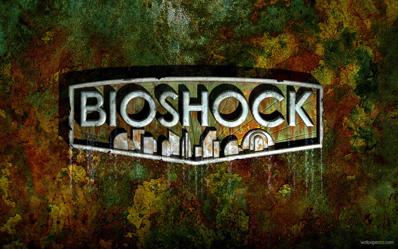Download Bioshock Logo Widescreen Wallpaper Wallpaper 1280x800