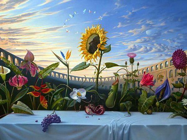 VladimirKushWallpaper La pintura surrealista de Vladimir Kush 10 600x450
