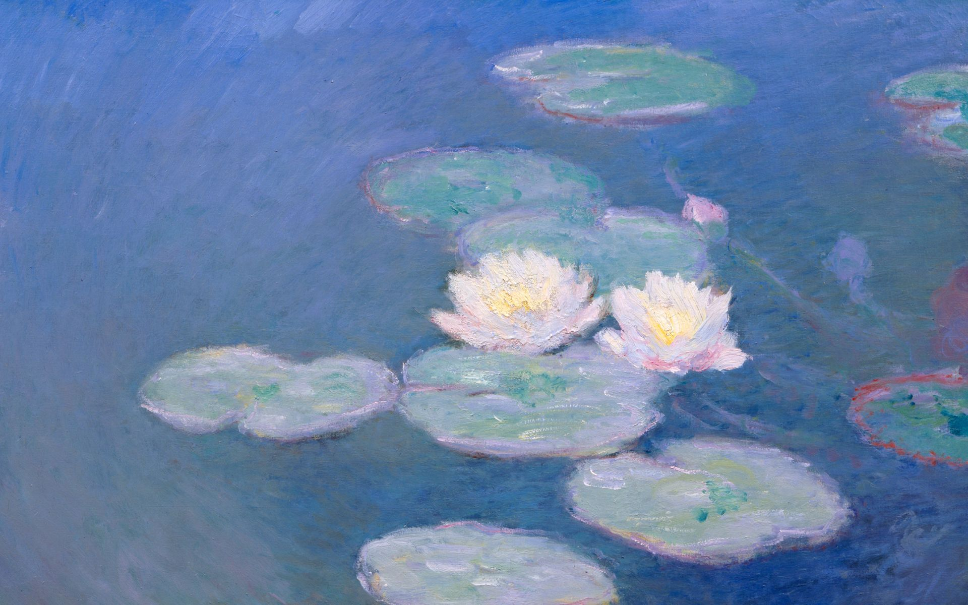 Waterlilies By Monet Desktop High Quality WallpapersWallpaper 1920x1200
