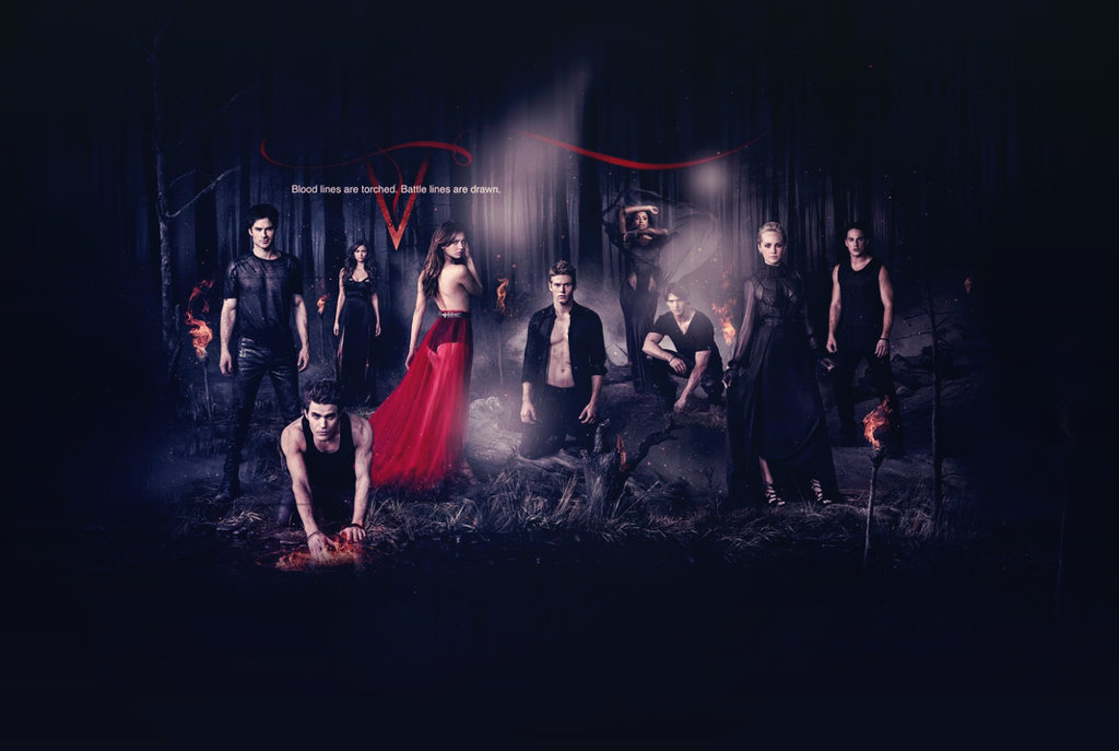 vampire diaries all seasons wallpapers wallpapersafari