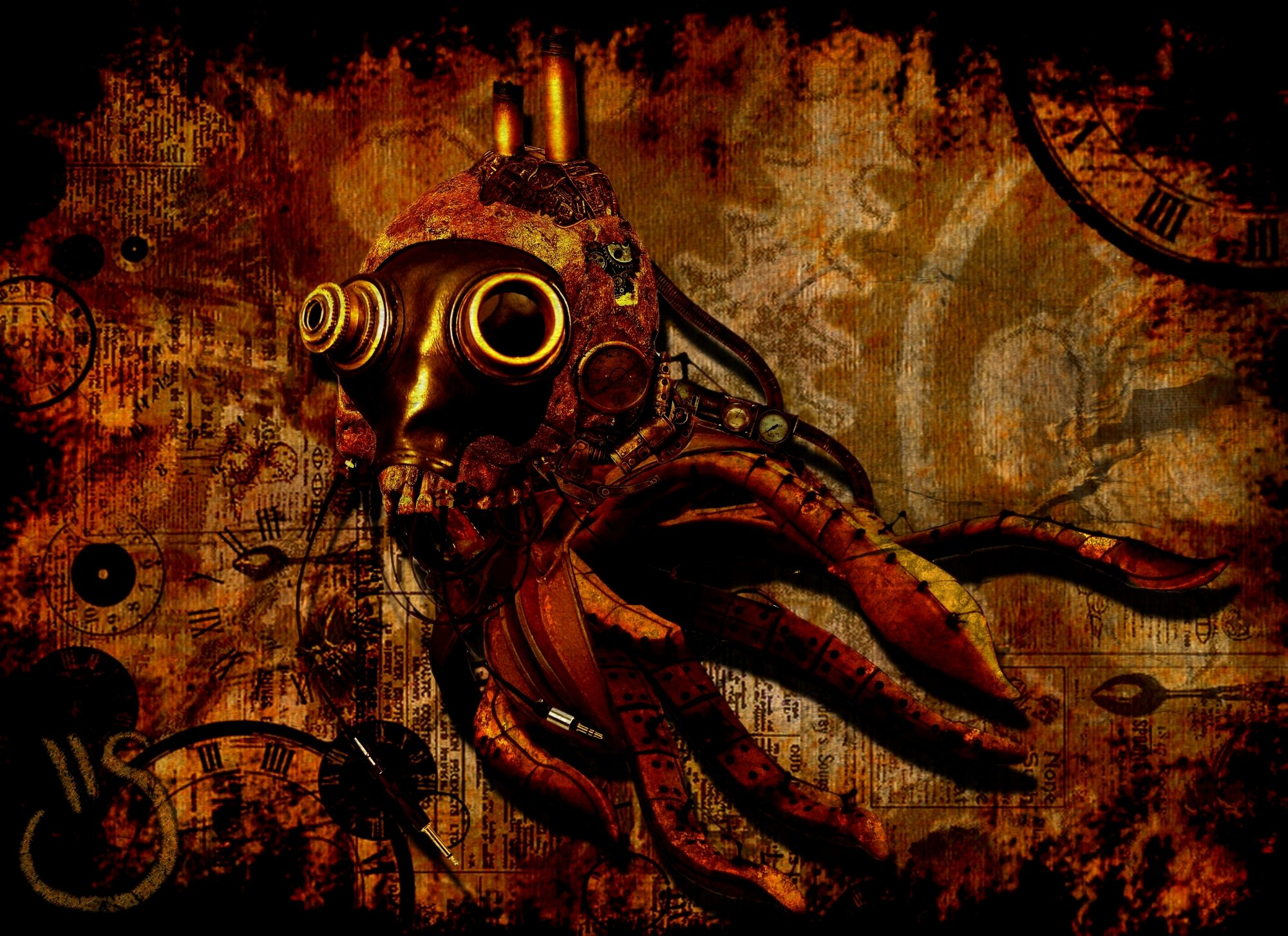 Sci Fi   Steampunk Wallpaper 2000x1454