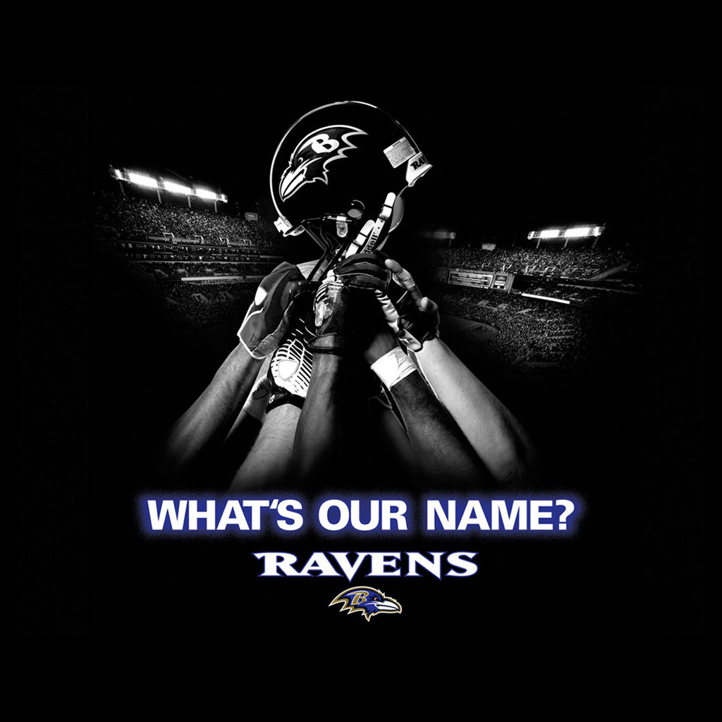 baltimore ravens name black ipad 1024x1024jpg phone wallpaper by 1024x1024
