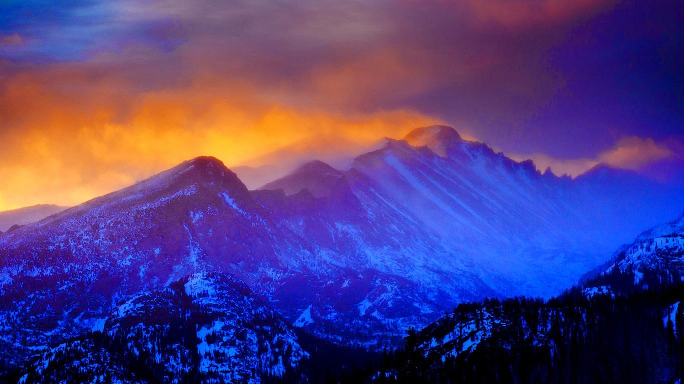 Rocky Mountain National Park Colorado Dan BallardCorbis 90 1366x768