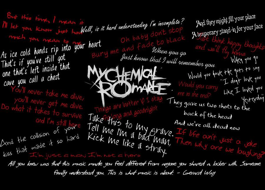 My Chemical Romance Wallpaper by artgirl7777 900x647