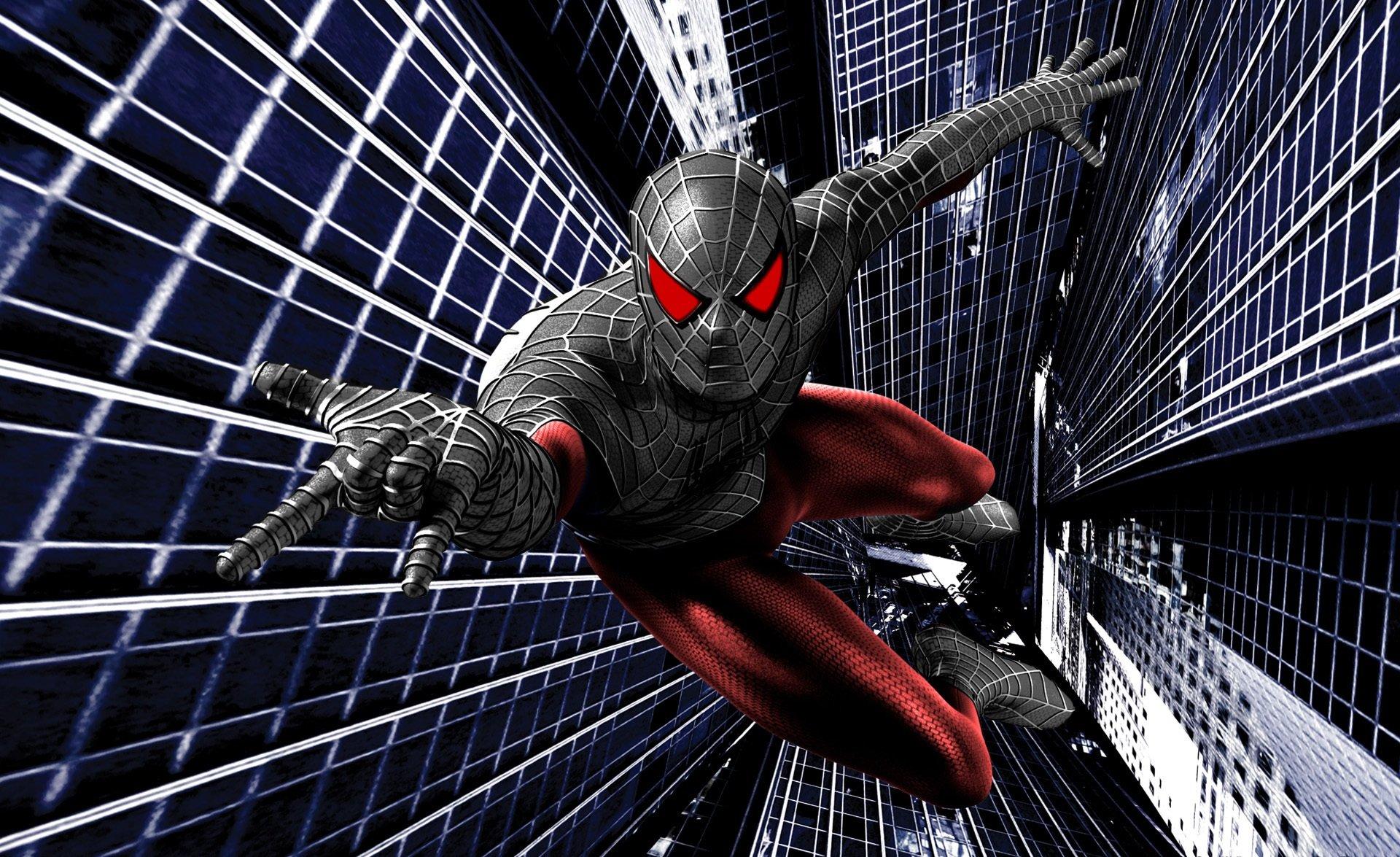 black suit spiderman wallpaper wallpapersafari
