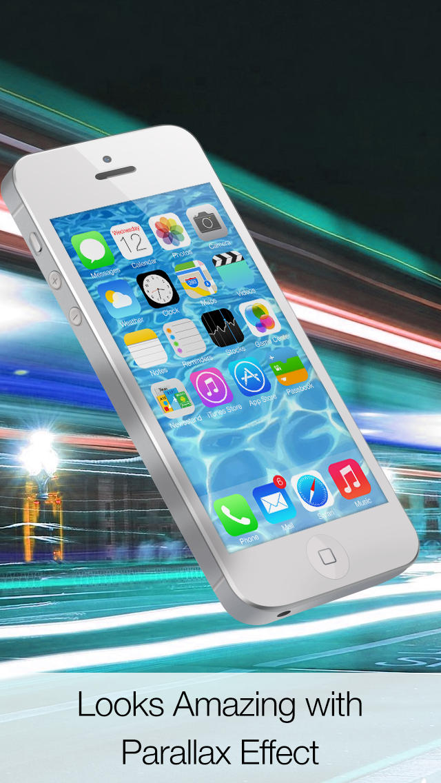 Dynamic Wallpapers for iOS 7   Parallax HD ScreenMotion Wallpapers 640x1136