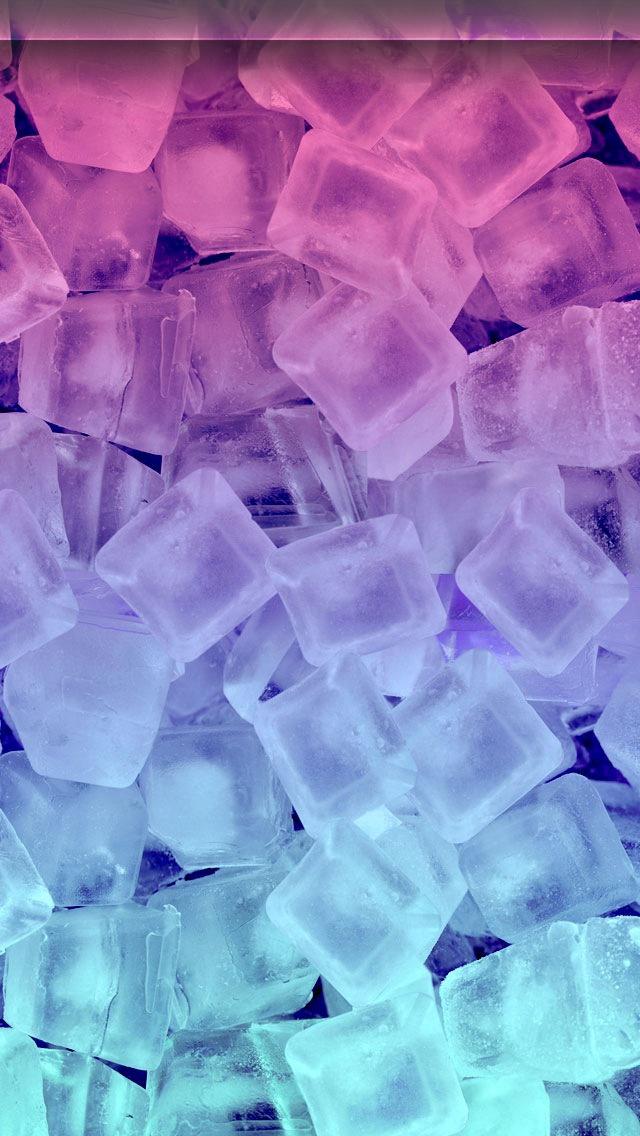 Ice Cubes iPhone 5 Wallpaper 640x1136 640x1136