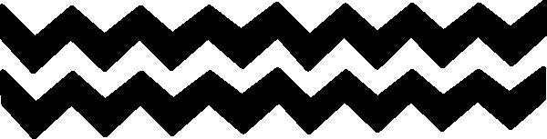 Zig Zag Clip Art at Clkercom   vector clip art online royalty 600x153