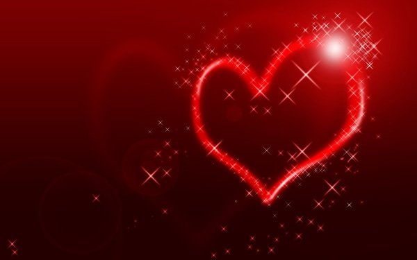 Create an abstract Valentine background with hearts in Adobe Photoshop 600x375