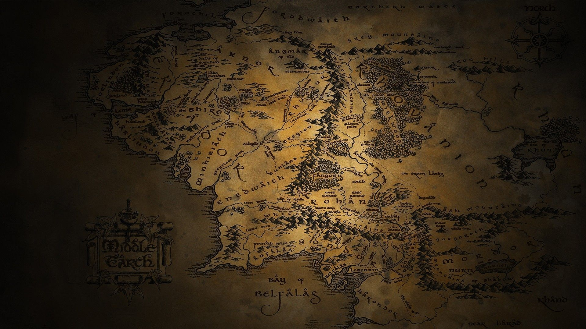 Download Lord Of The Rings Wallpapers 1920x1080