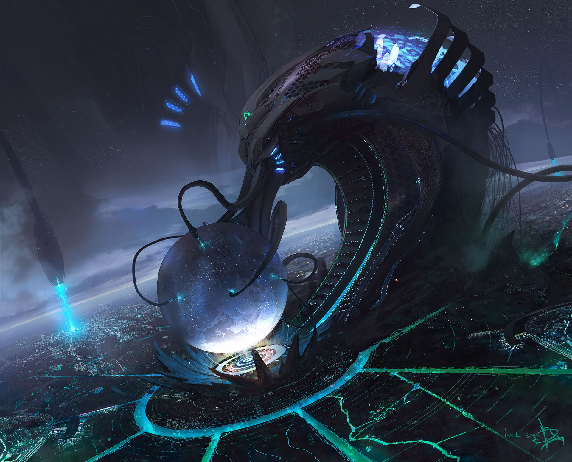 Sci-fi Wallpaper of the week #40 - Concept art, Sci-fi ...