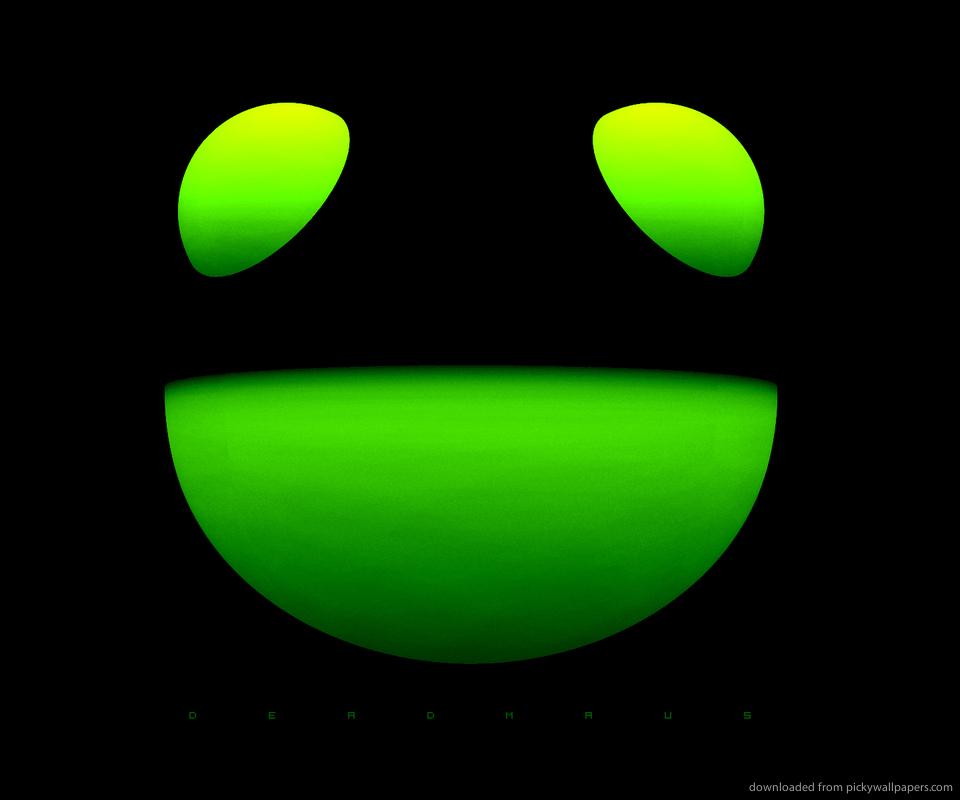 deadmau5 green wallpaper - photo #18