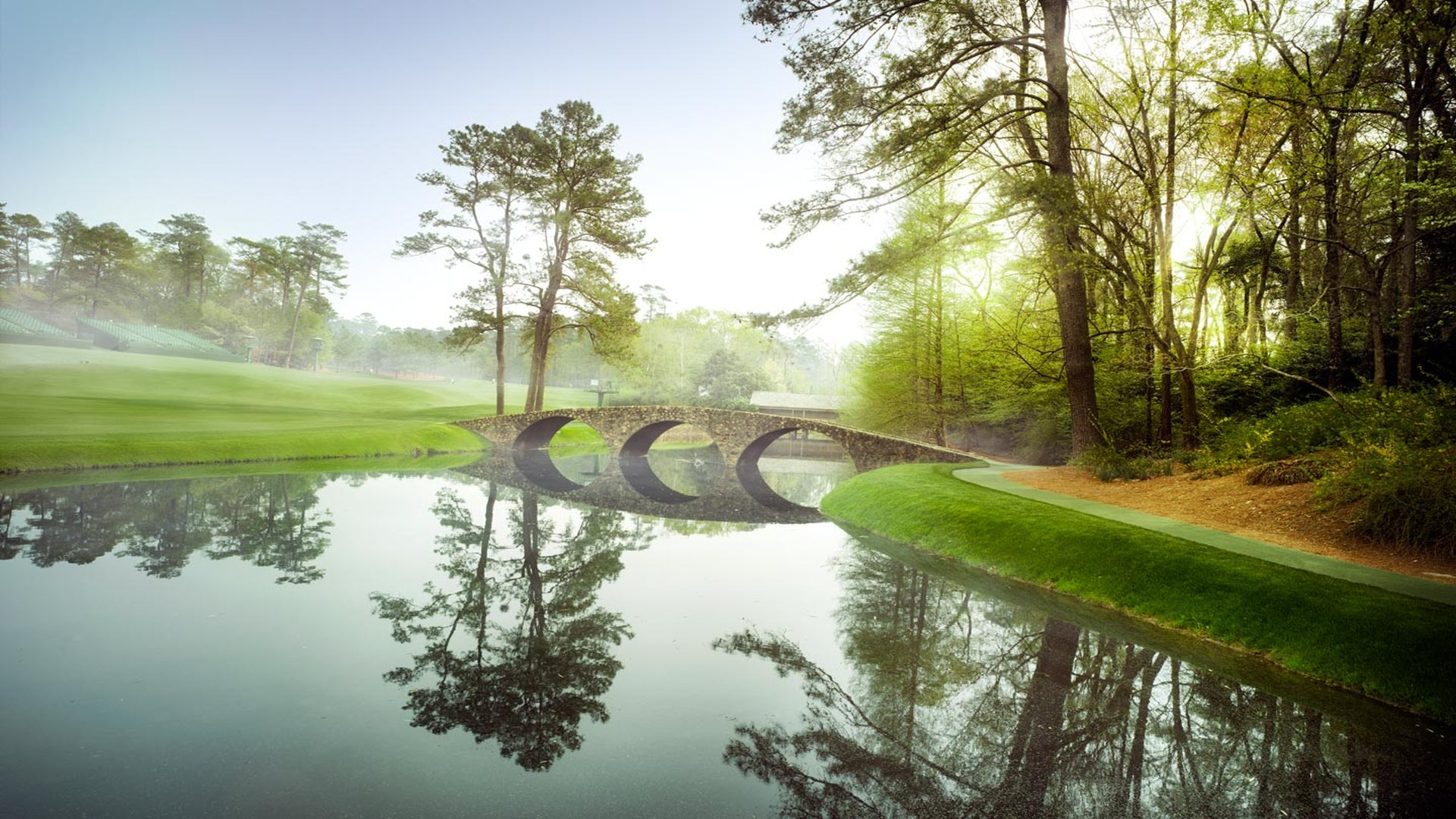 47] Augusta National Golf Course Wallpaper on WallpaperSafari 1920x1080
