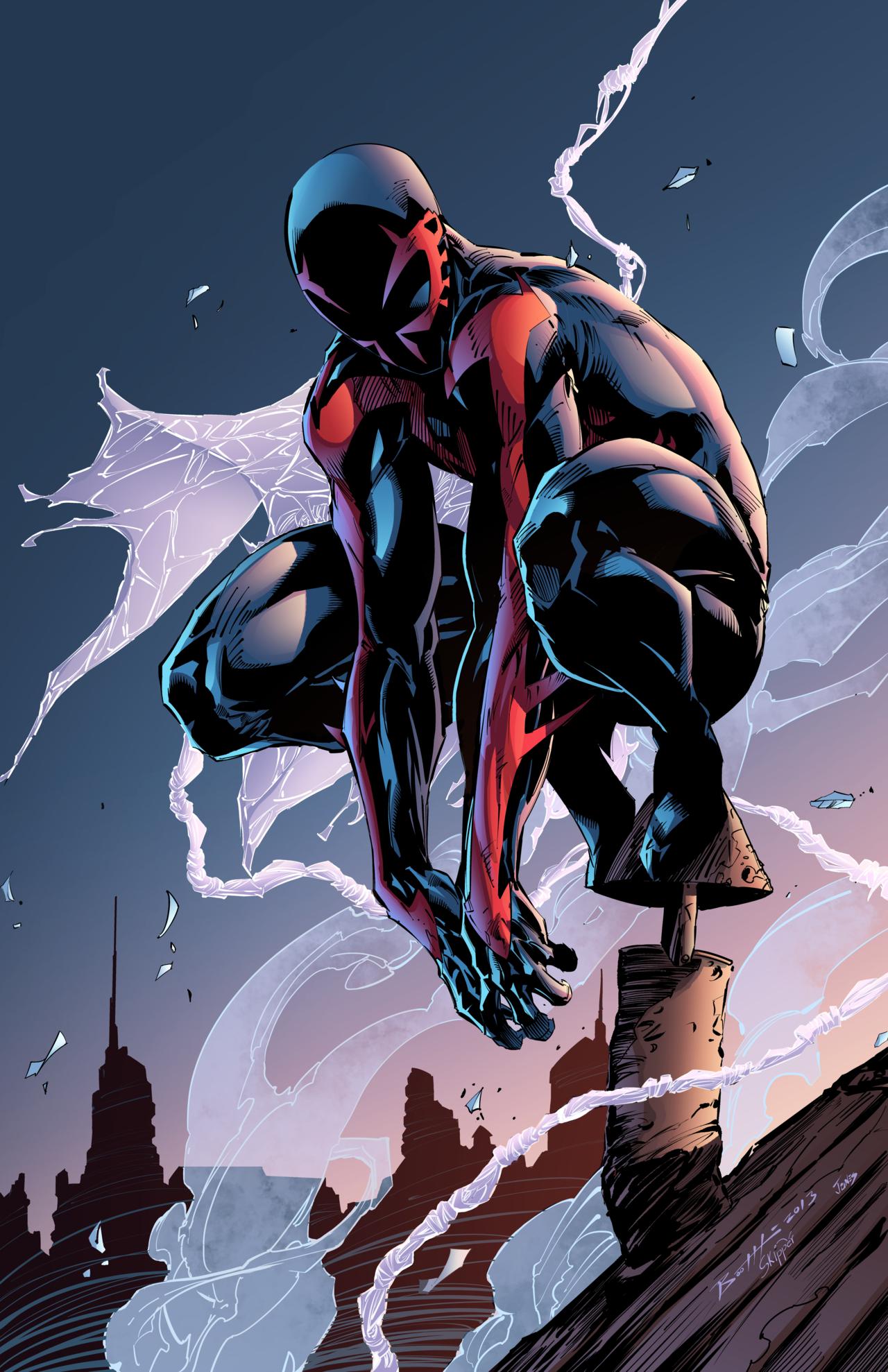 Ultimate Captain America vs Spiderman 2099   Battles   Comic Vine 1280x1978