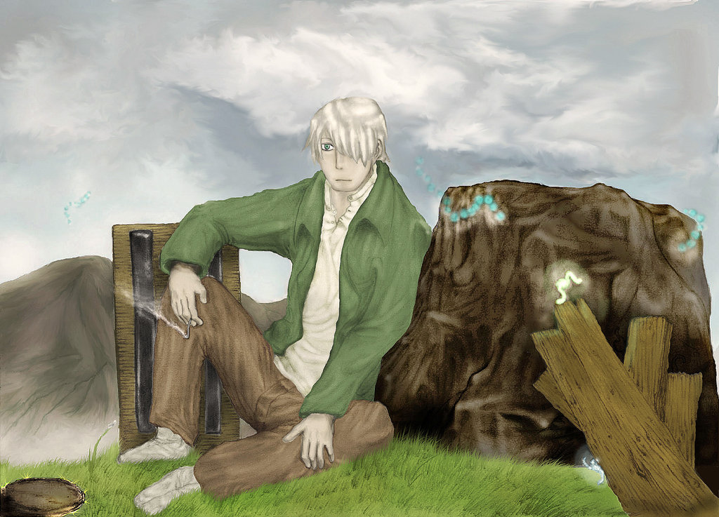 Ginko Mushishi 16 Desktop Wallpaper Wallpaper 1024x737