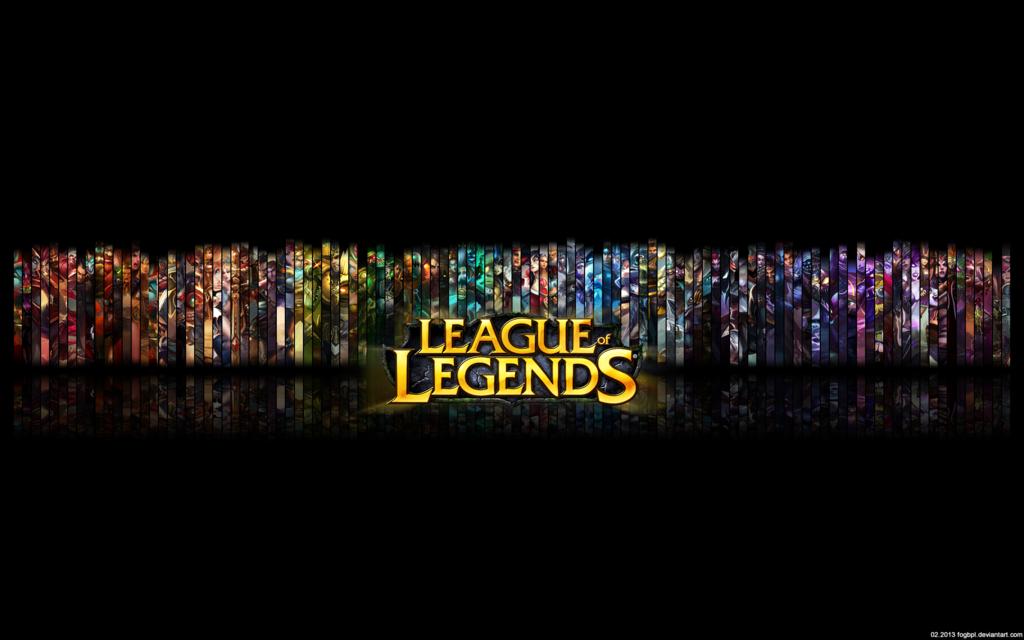 league of legends logo wallpaper wallpapersafari