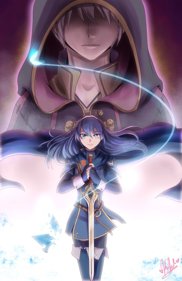 Fire Emblem Awakening Tiki And Robin Fea  were not pawns of some 616x952