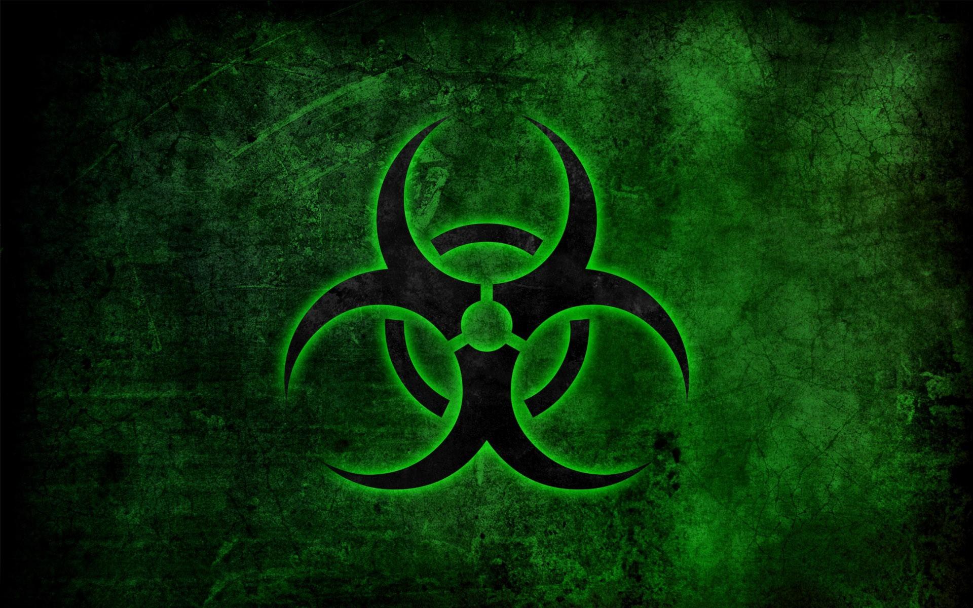 Biohazard symbol wallpaper 10778 1920x1200