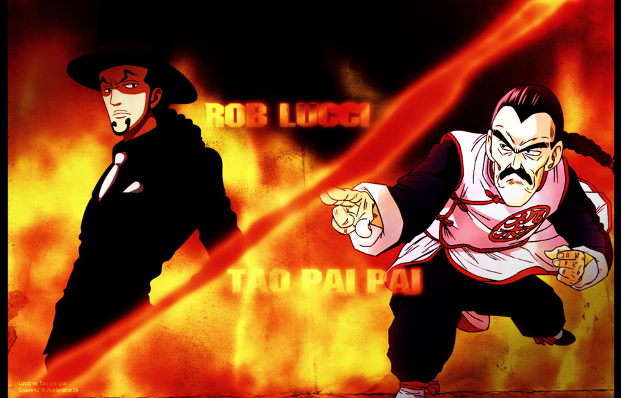 Rob Lucci vs Tao Pai Pai by Accelerator16 900x576