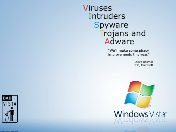 funny microsoft windows windows vista Windows Wallpapers Desktop 600x450