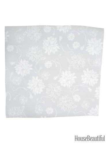 Gray Peel and Stick Wallpaper housebeautifulcom wallpaper 375x500