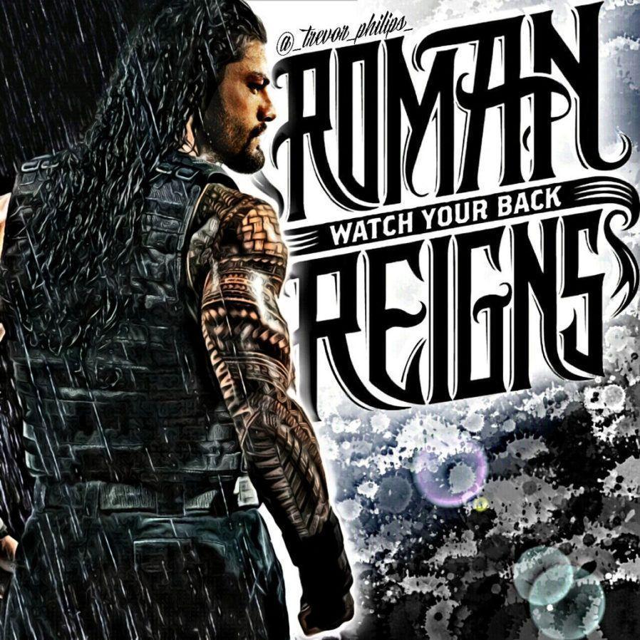 Roman Reigns Logo Wallpapers 898x898