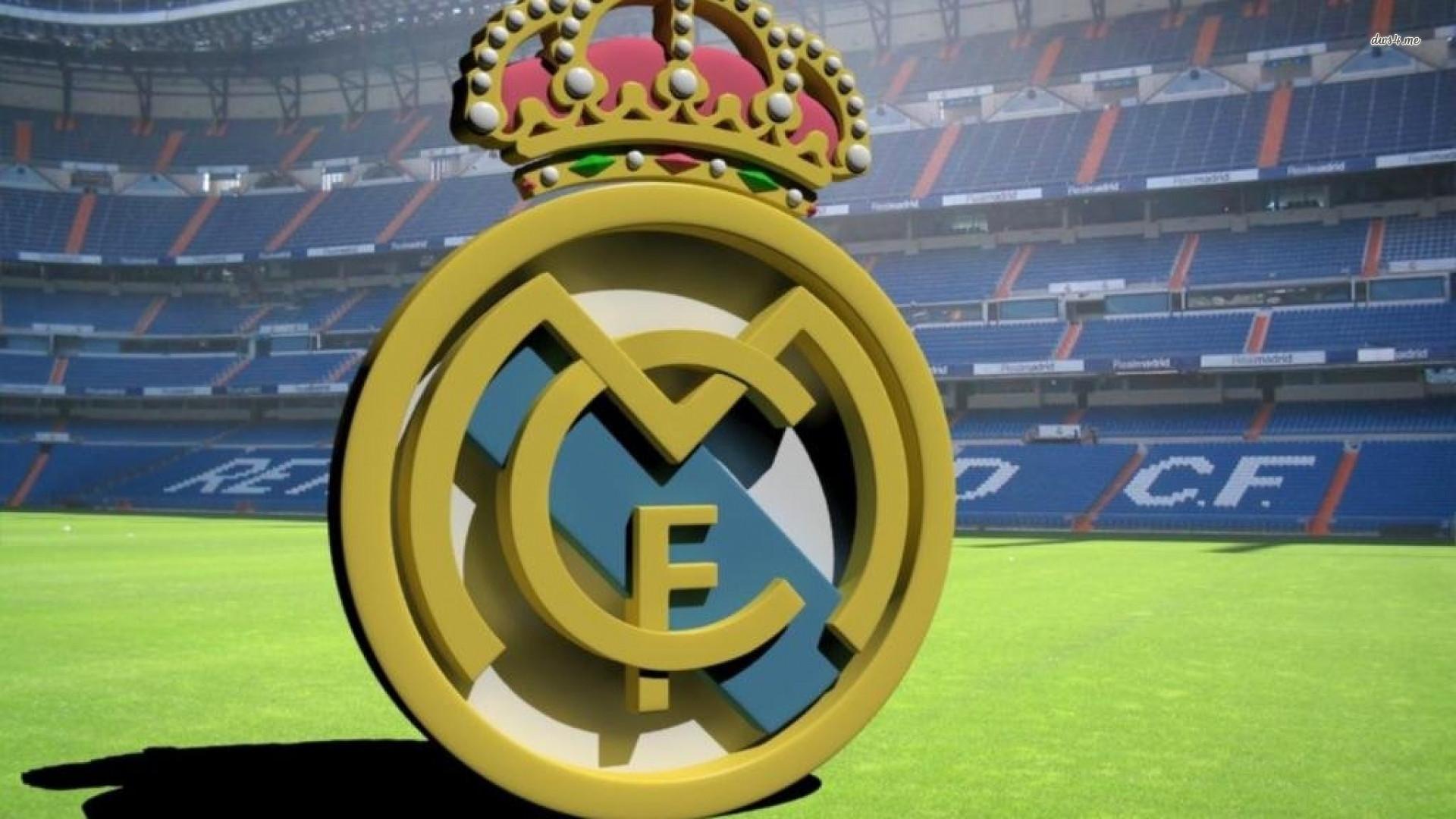 Real Madrid Logo Wallpaper HD 1920x1080
