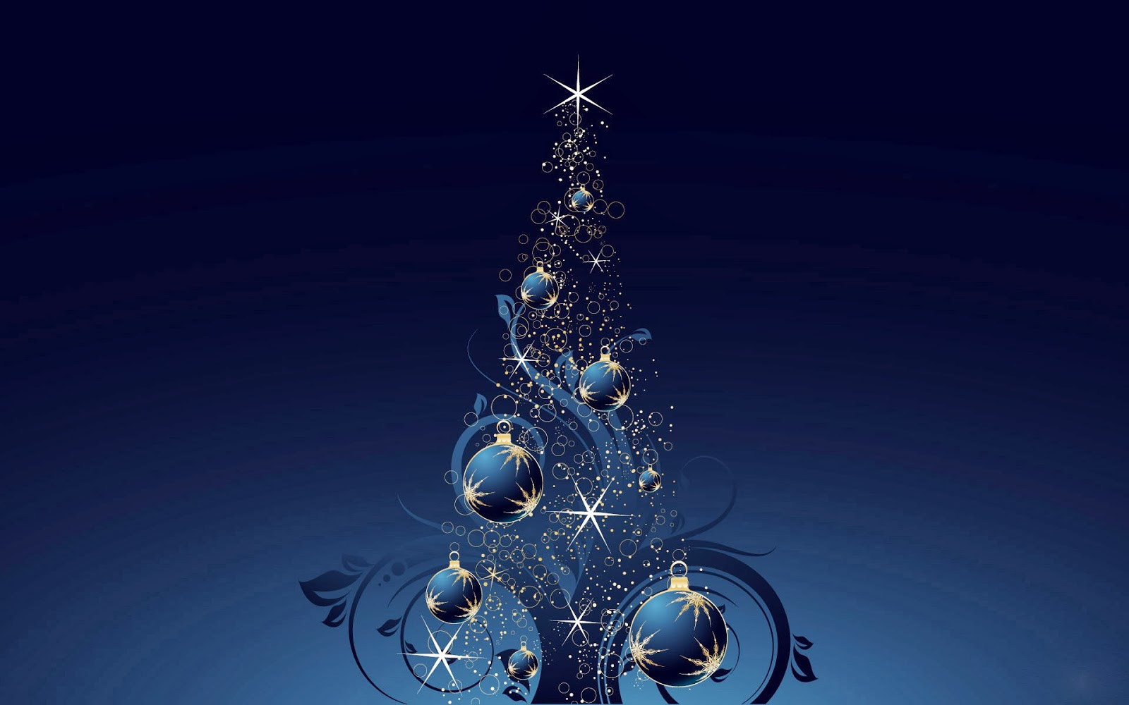 Ravishment Beautiful 3D Merry Christmas Tree HD 1600x1000