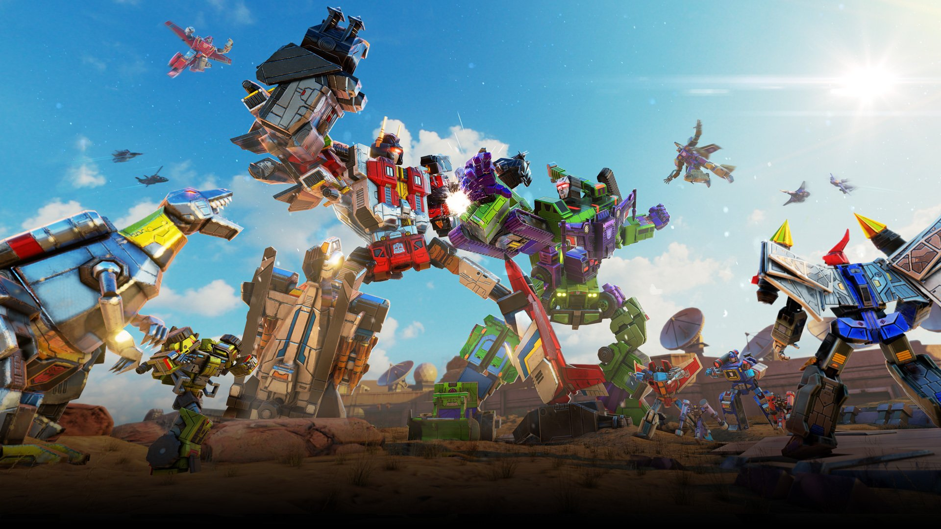 Transformers Earth Wars Combine Wars with Devastator and Superion 1920x1080