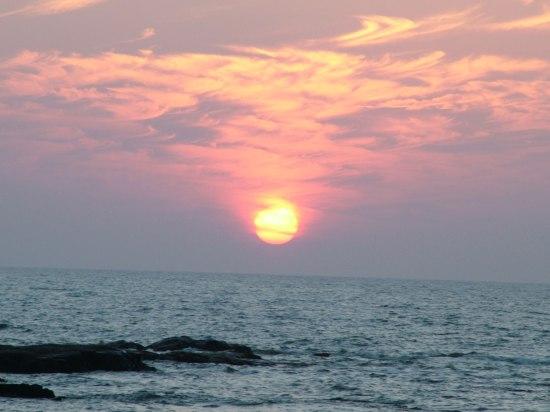 7art screensaverscomGet Big ocean sunset photo in 550x412