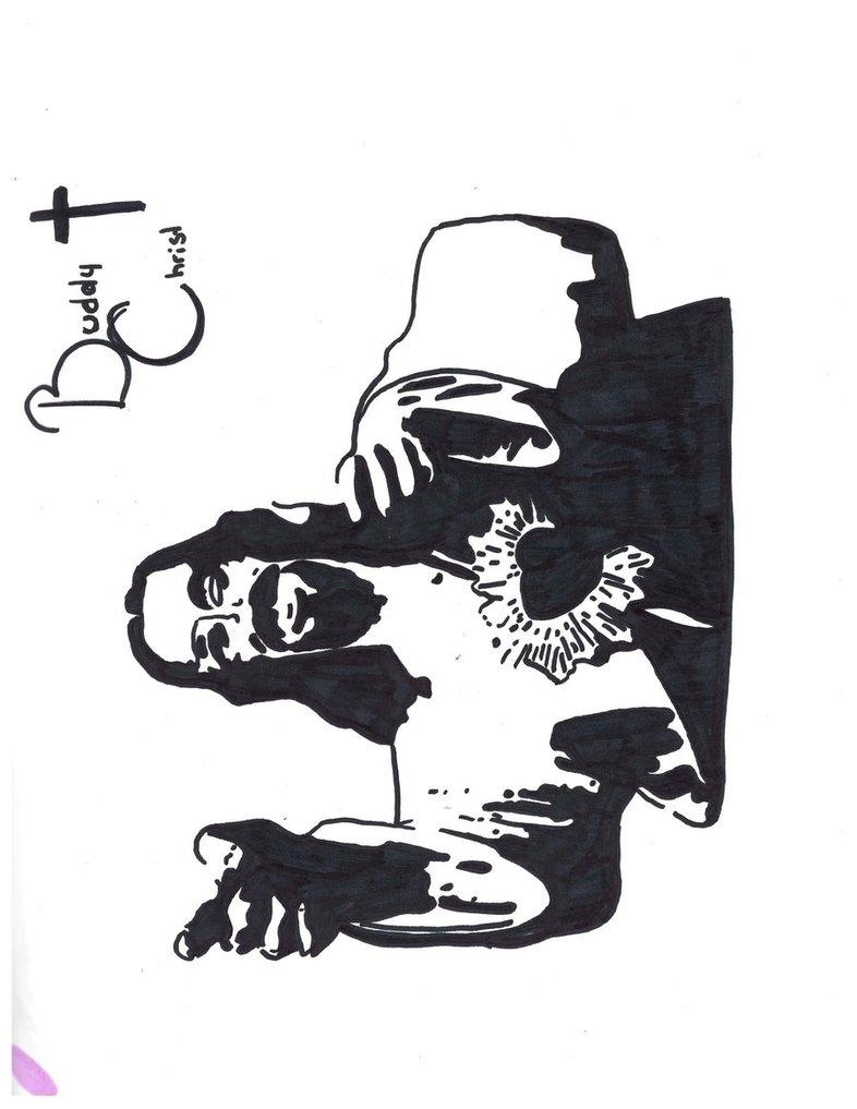 Buddy Christ Wallpaper - WallpaperSafari