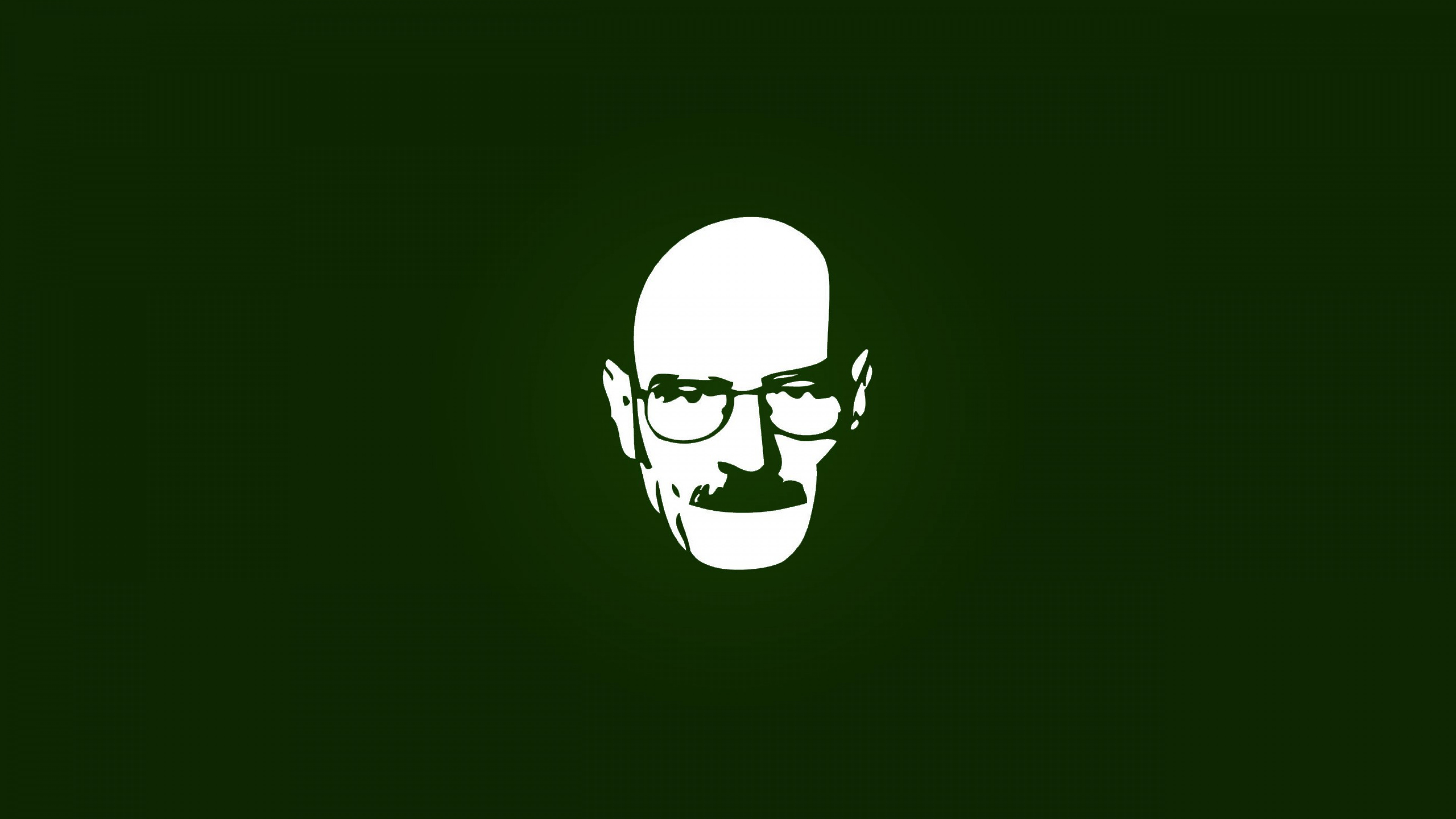 3840x2160 Wallpaper minimalism breaking bad walter white graphics 3840x2160
